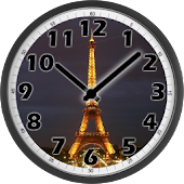 Tour Eiffel Night Clock