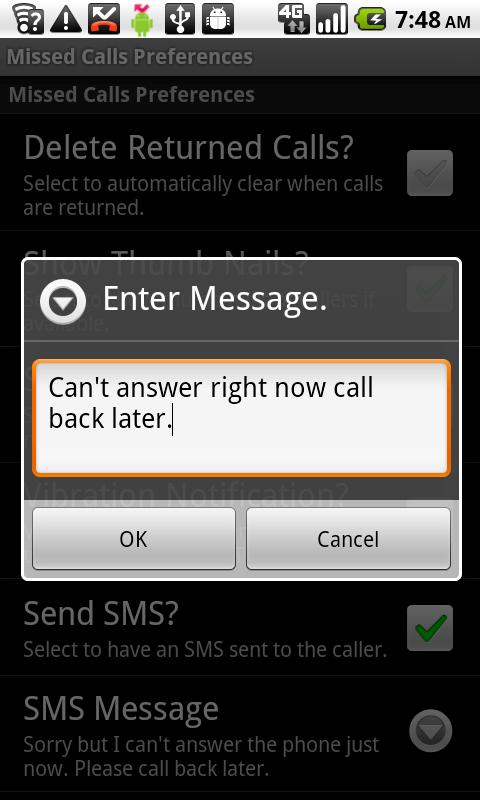 Missed Call II - screenshot