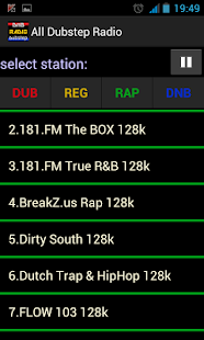 Rap radio Hip Hop radio - screenshot thumbnail