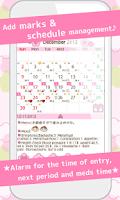 Screenshot of LadysCalendar Free (Period)