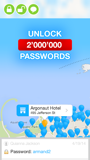 #9. WiFi Map — Free Passwords (Android)