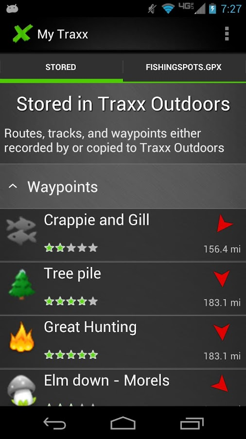 Traxx Outdoors- screenshot