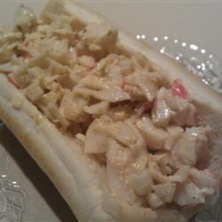 Seafood Sandwich.