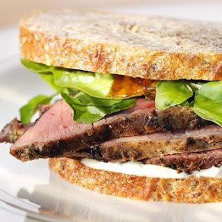 Lamb Sandwich.