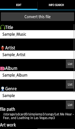 TK Music Tag Editor 7.1.7 screenshot 393903