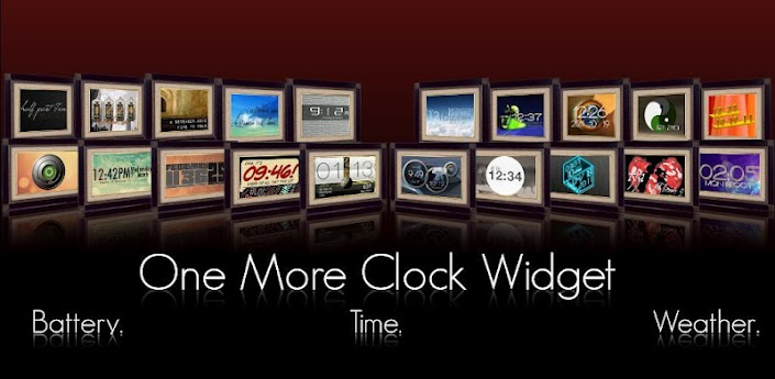 One More Clock Widget apk