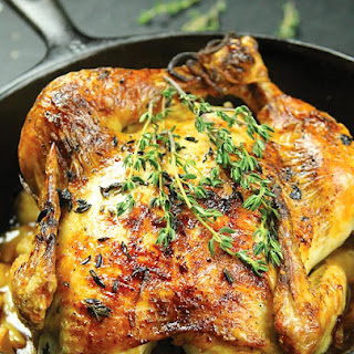 Oven Roasted Chicken.