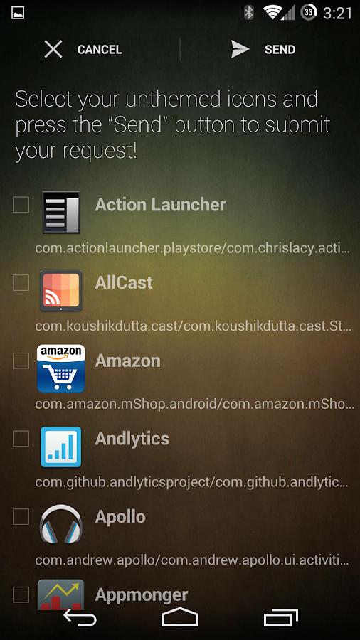 Spectra Icon Theme - screenshot