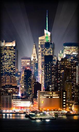 街夜のライブ壁紙