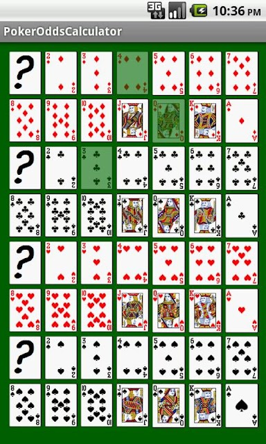 4 card poker odds of winning calculator soup
