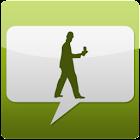 walk n shake n sms icon