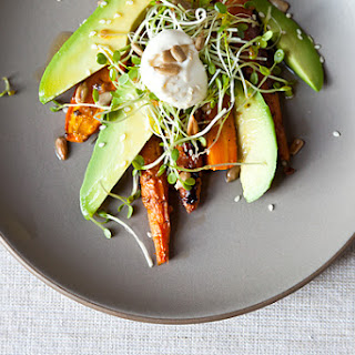 Carrot Salad with Avocado.