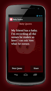 Baby Quotes - screenshot thumbnail