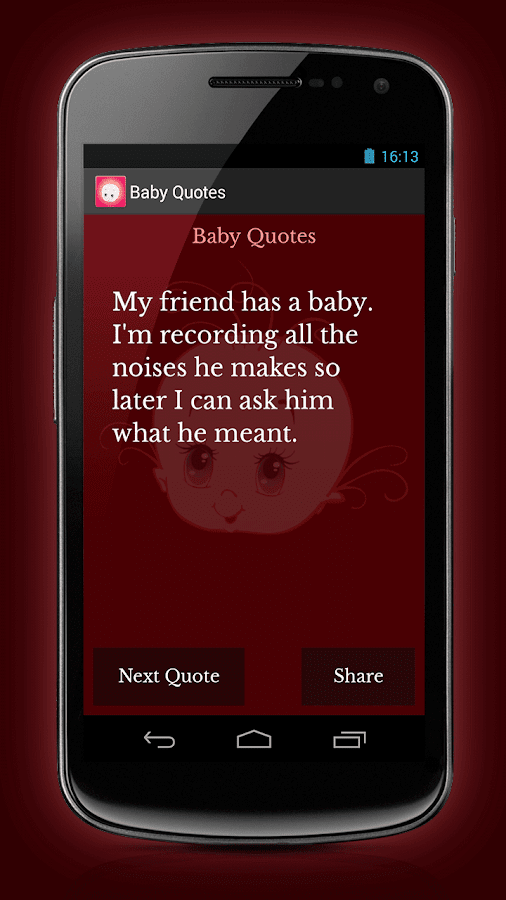 Baby Quotes - screenshot