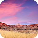 Red Clouds Canyon Wallpapers logo