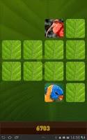 Screenshot of Jungle Memory Game