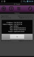 Screenshot of IP Track Donate Version