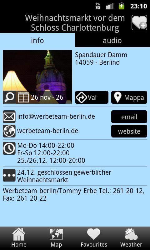 Weihnachtsmärkte Berlin 2012- screenshot