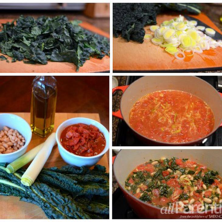 Vegan Tuscan Bean Soup Recipe
