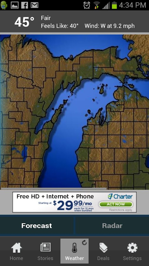 UpNorthLive - screenshot