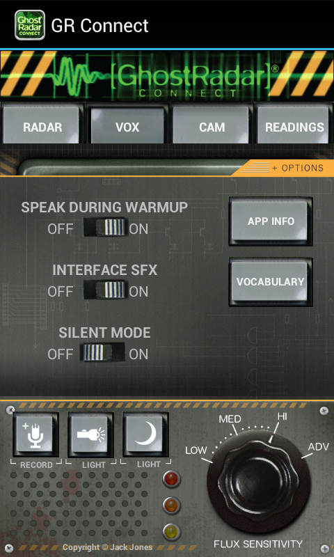 Ghost Radar®: CONNECT - screenshot