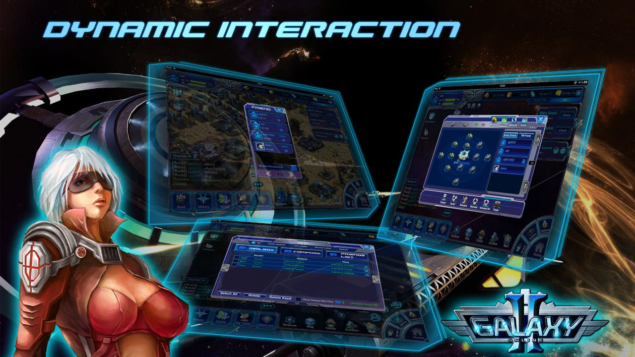 Galaxy Online 2 HD Pro (Tablet - screenshot