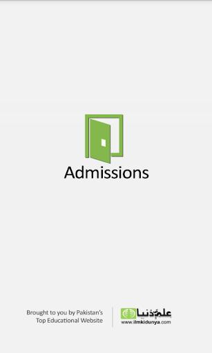Admissions - ilmkidunya.com