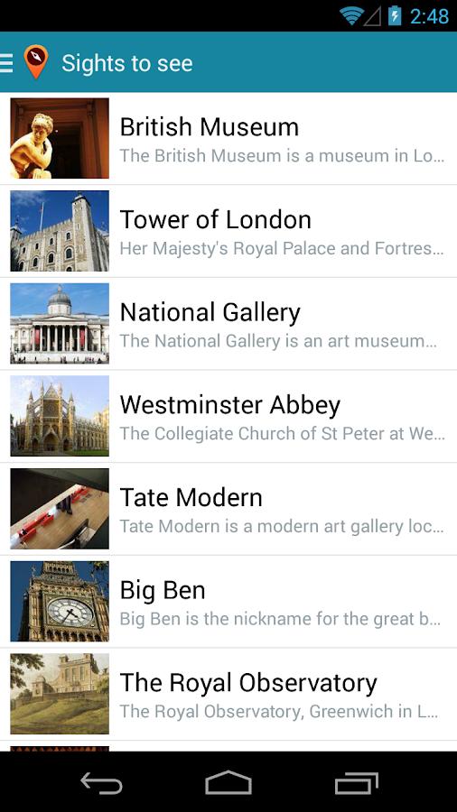 London Travel Guide TripTern - screenshot