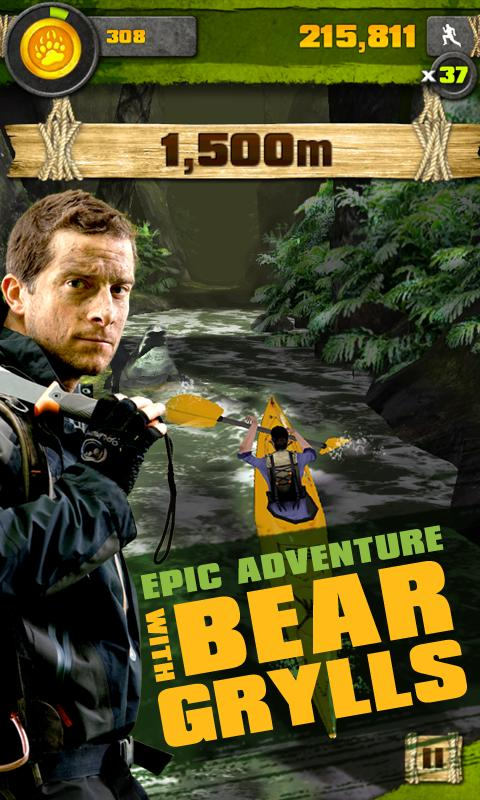 Survival Run with Bear Grylls- screenshot