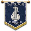 Greek Fans of GoT icon