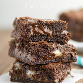 Brownie Gooey Bars.