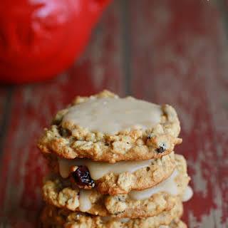 Maple Oatmeal Raisin Cookies.