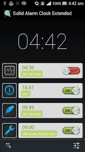 Solid Alarm Clock Extended screenshot 0