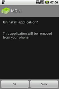 Uninstaller - screenshot thumbnail