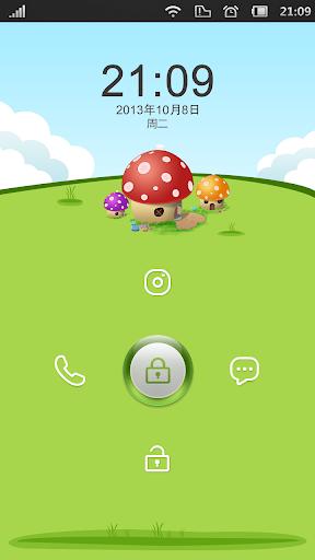 问果桌面主题-蘑菇