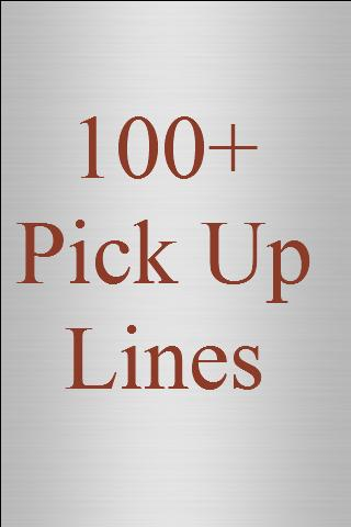 100+ Top Pick Up Lines - screenshot
