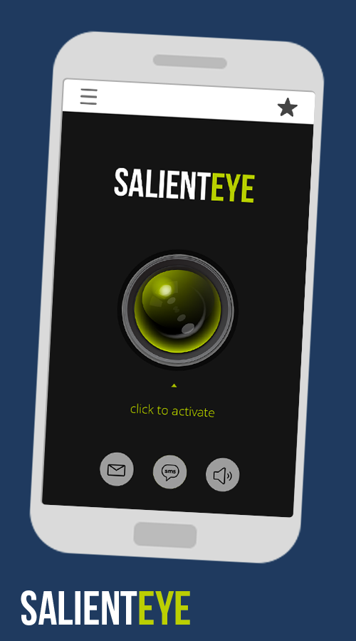 Salient Eye mobile Security- screenshot