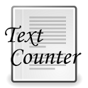 Text Counter icon