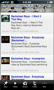 Backstreet boy+ - screenshot thumbnail
