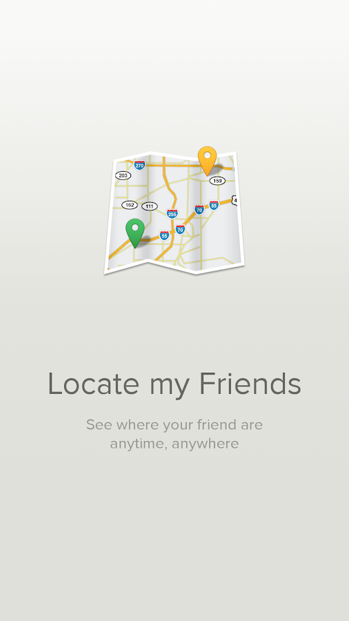 Locate My Friends! - screenshot