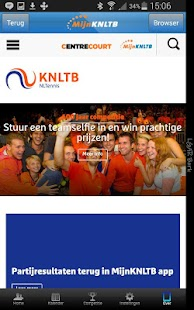 MijnKNLTB - screenshot thumbnail