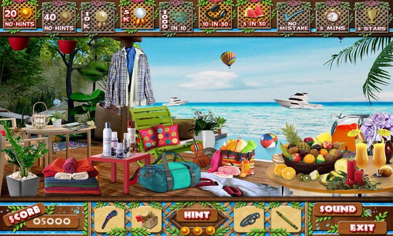# 265 New Free Hidden Object Game Puzzles Sea View- screenshot
