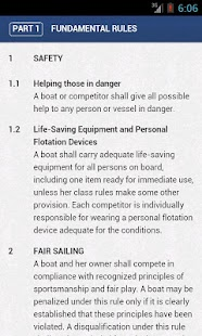 ISAF Racing Rules of Sailing - screenshot thumbnail
