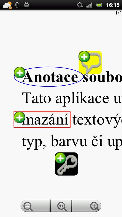 PDF Annotation - screenshot