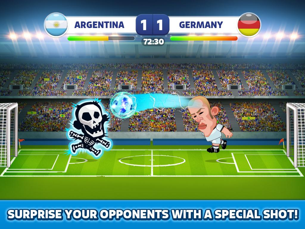 Head Soccer - World Football- screenshot