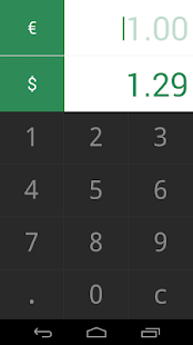 Currency Converter Monini- screenshot thumbnail
