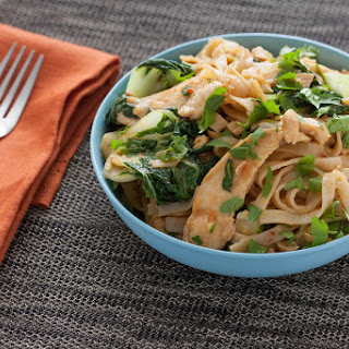 Stir-Fried Chicken Pad Thai.