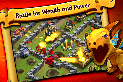 Battle Dragons:Strategy Game- screenshot