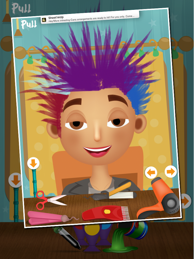 Kids Hair Salon Kids Games Android Apps On Google Play