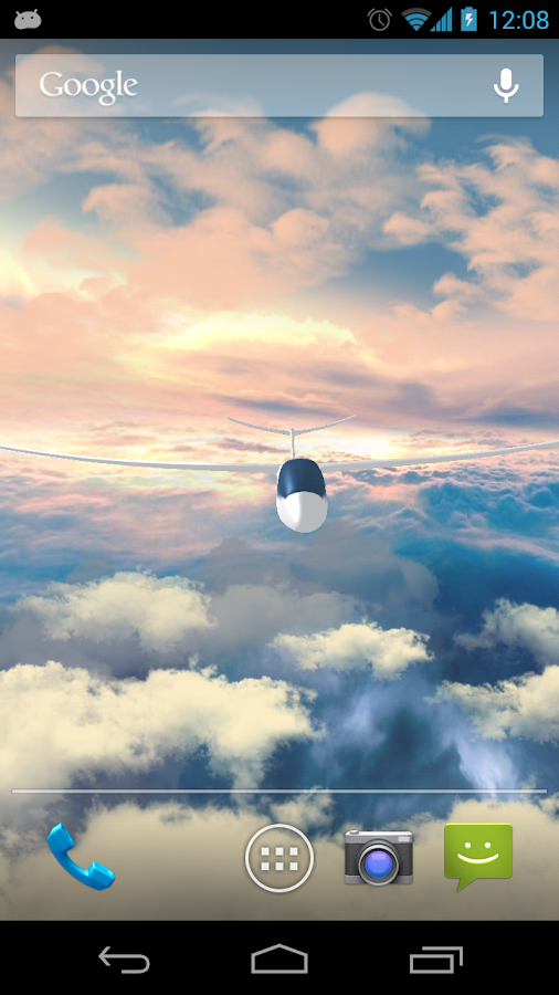 Flight in the sky 3D PRO - screenshot